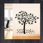 Наклейки на стену дерево