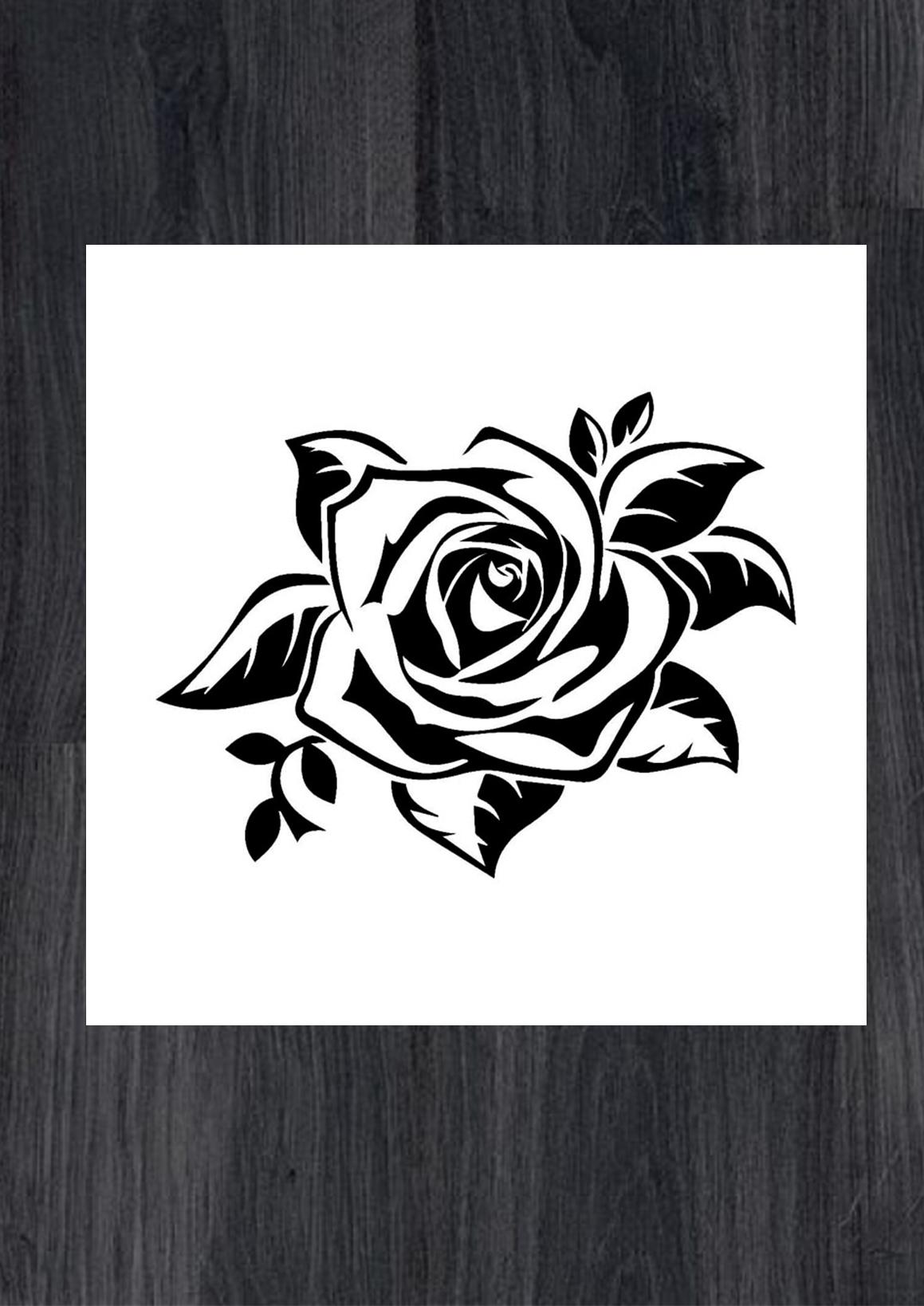 Наклейки на стену цветы розы