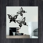 Наклейки на стену бабочки