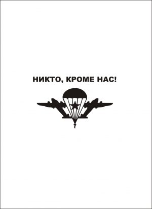 Наклейка на авто ВДВ