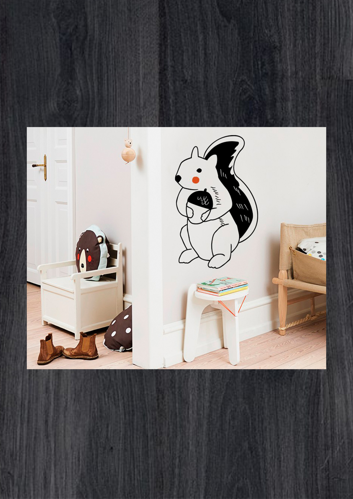 Наклейки на стену в детскую комнату